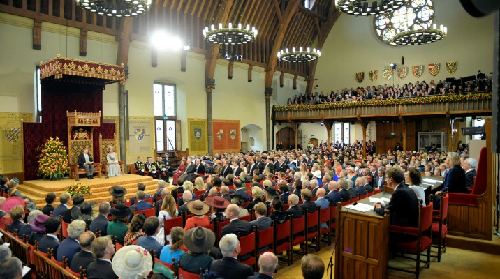 troonrede in de ridderzaal